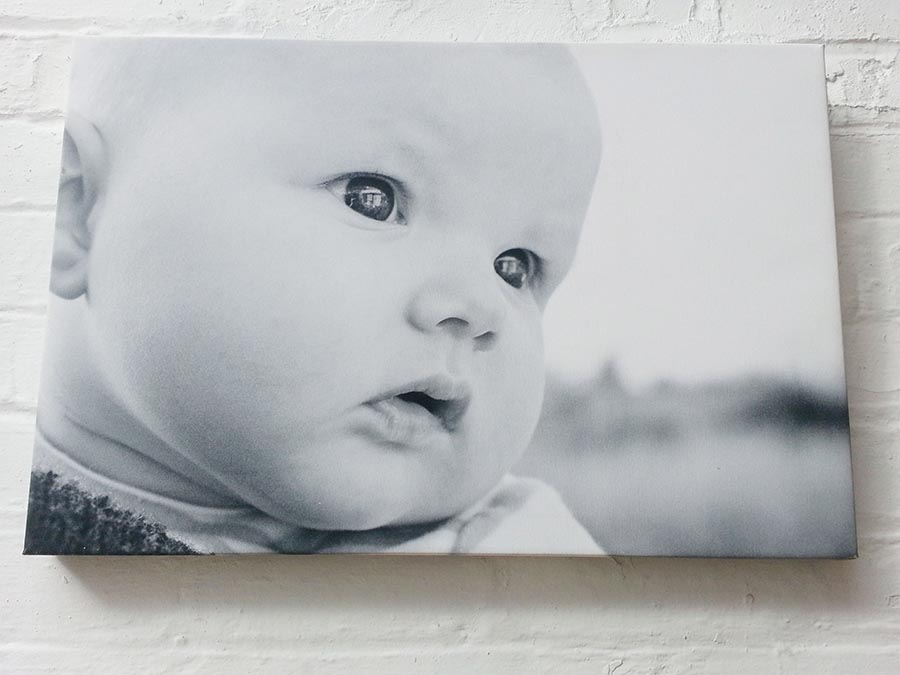 Large Canvas of Rubie by Kelliejo Photography at the studio