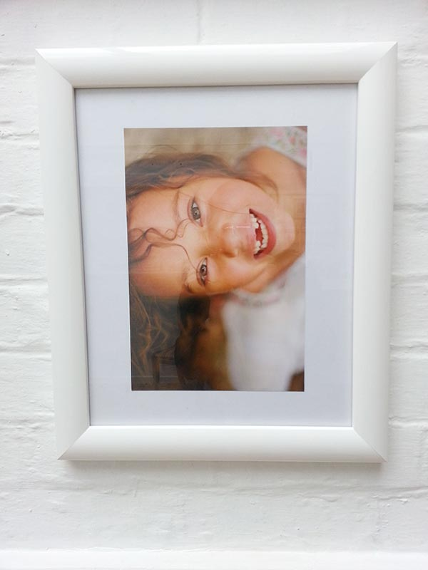 Framed portrait of Ta-Neisha at Kelliejo Photography's Studio