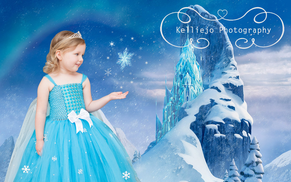 Rubie's Frozen Portrait by Kelliejo Photography 2