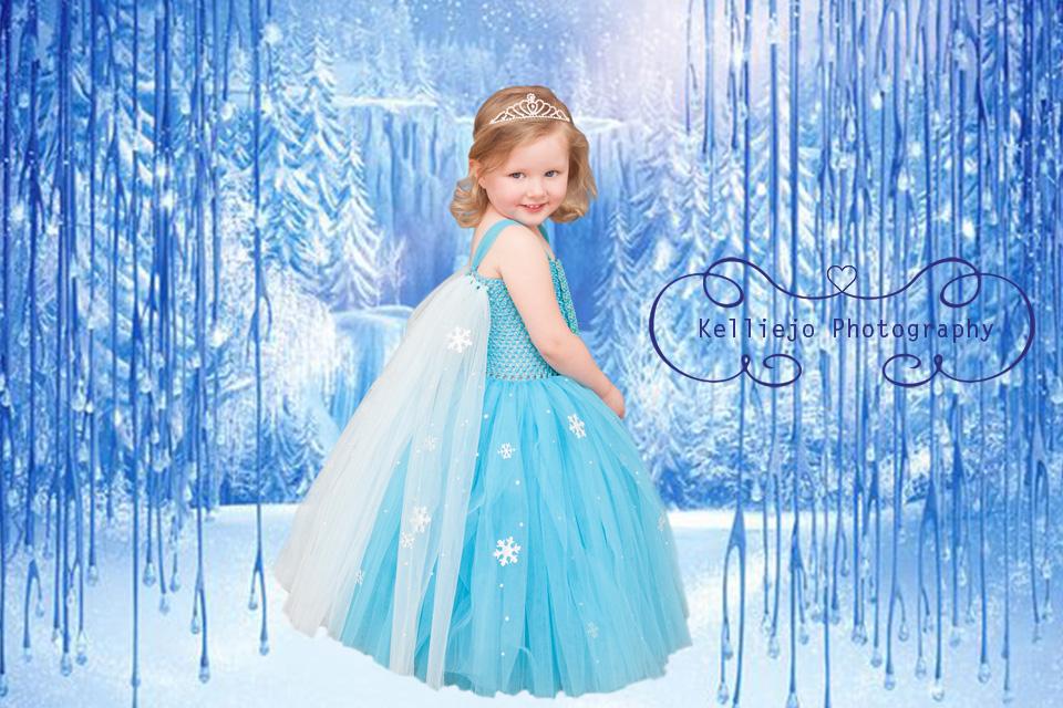 Rubie's Frozen Portrait by Kelliejo Photography 3