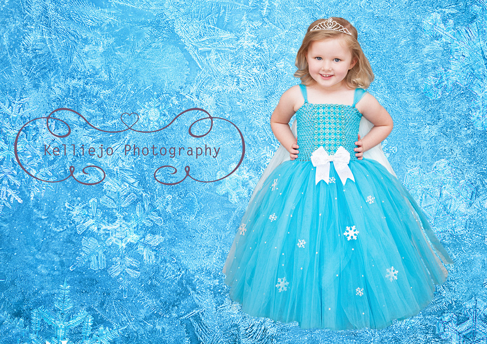 Rubie's Frozen Portrait by Kelliejo Photography 5