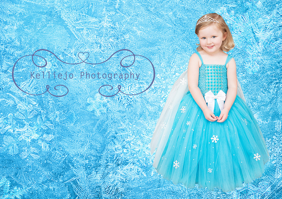 Rubie's Frozen Portrait by Kelliejo Photography 6