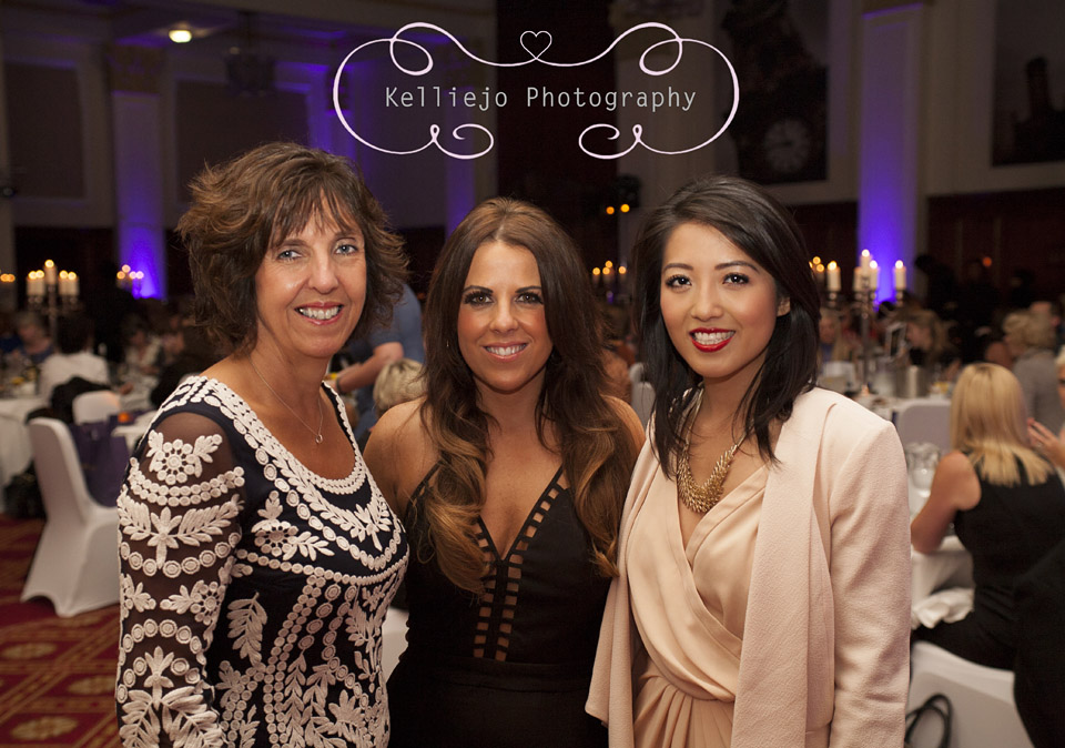 Jayne Bessant, Chelsea Norris and Susan Ma at Ladies Lunch at The Palace Hotel Manchester by Kelliejo Photography