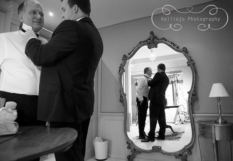 Cheshire Wedding Photographer Upper House Hayfield Weddings Groom Prep