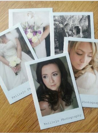 moo business cards for Cheshire wedding photographer Kelliejo Photography