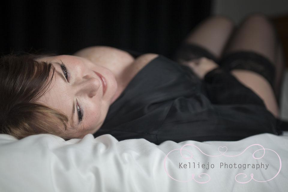 Alison Boudoir Photo Shoot by Cheshire Photographer Kelliejo Pho