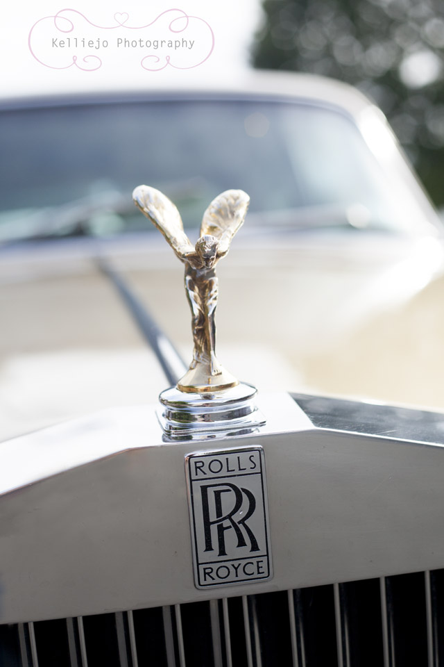 Rolls Royce prom car
