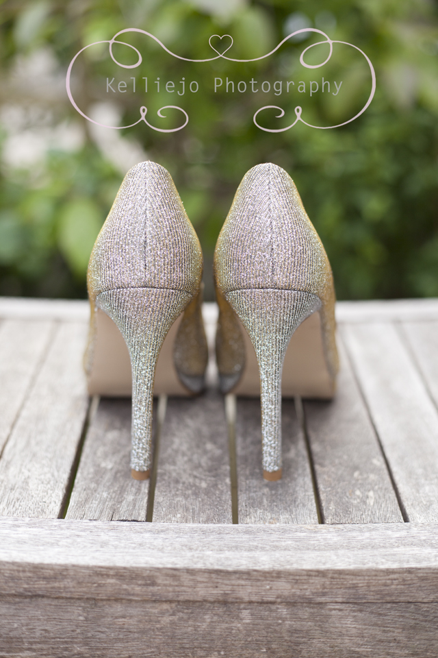 Sparkly Cinderella Prom Shoes