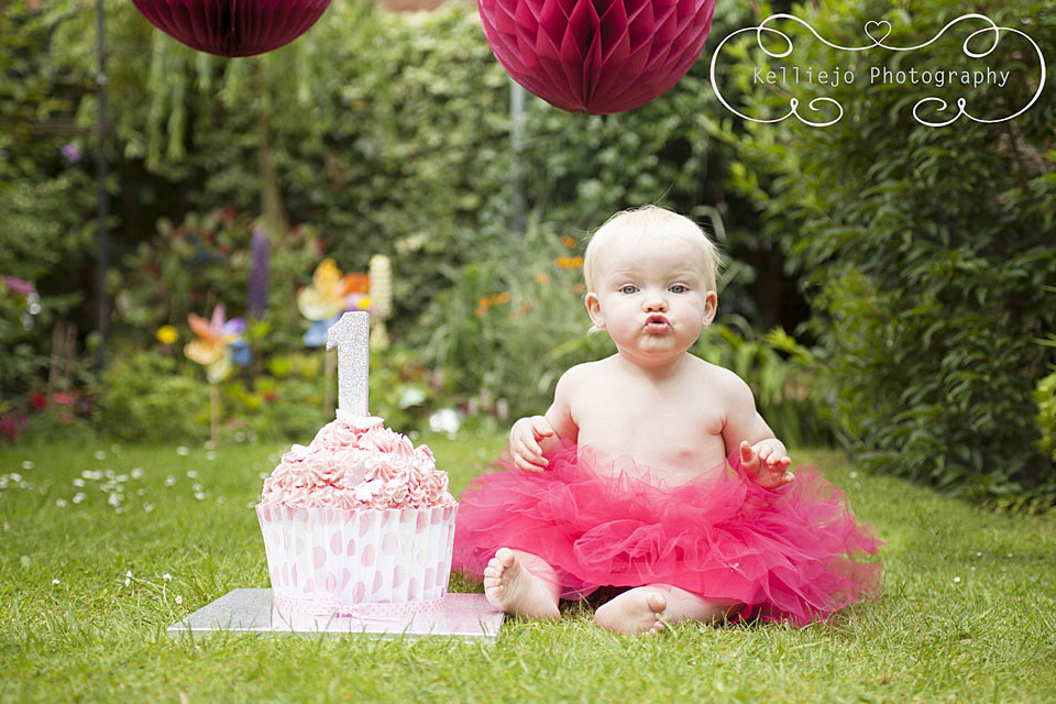 Cake Smash Cheshire & Manchester by Kelliejo Photography 1