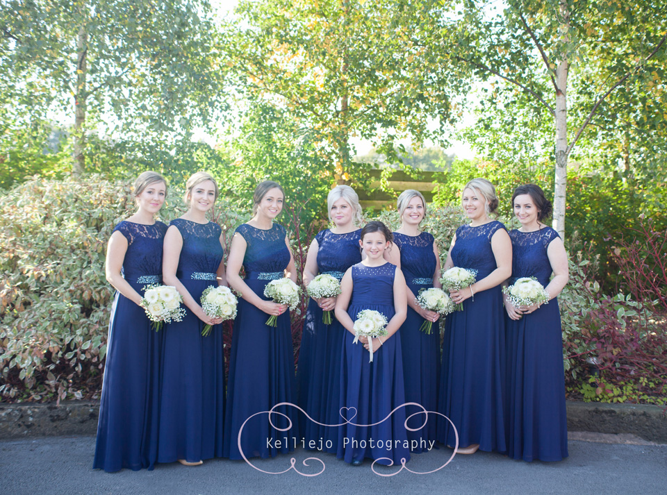 Styal Lodge wedding photography of the bridesmaids