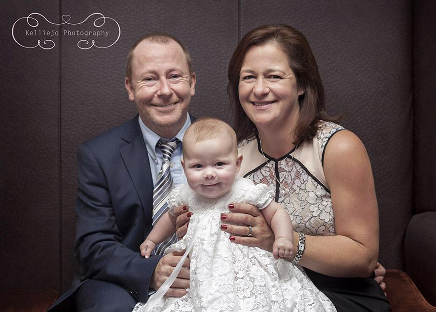 Isabelle & Emilie's christening.