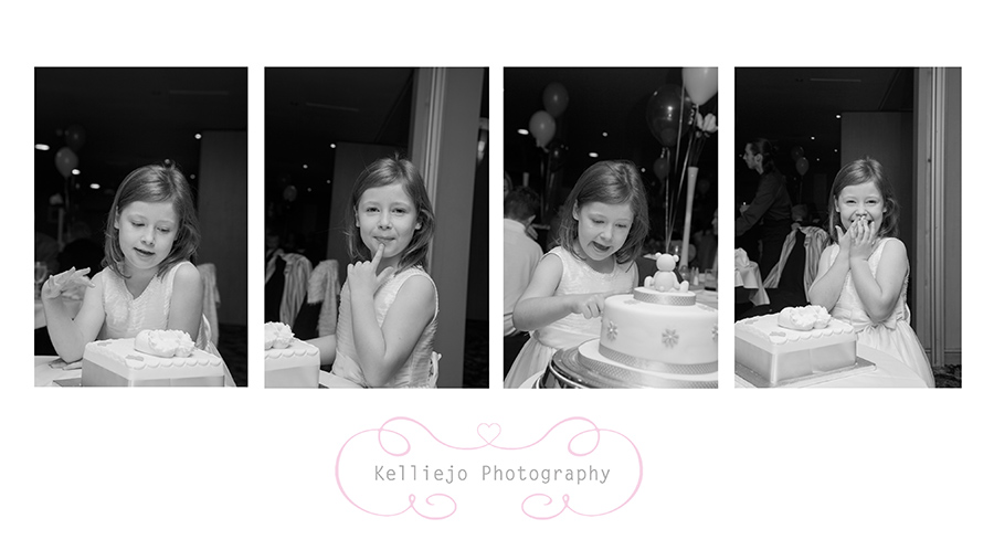 Isabelle & Emelie's christening.
