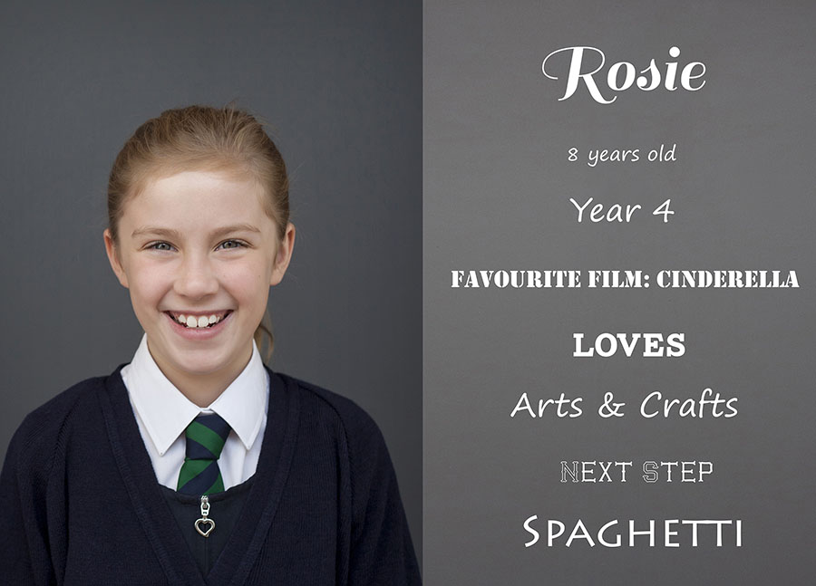 Rosie Loves by Cheshire school photographer Kelliejo Photography web