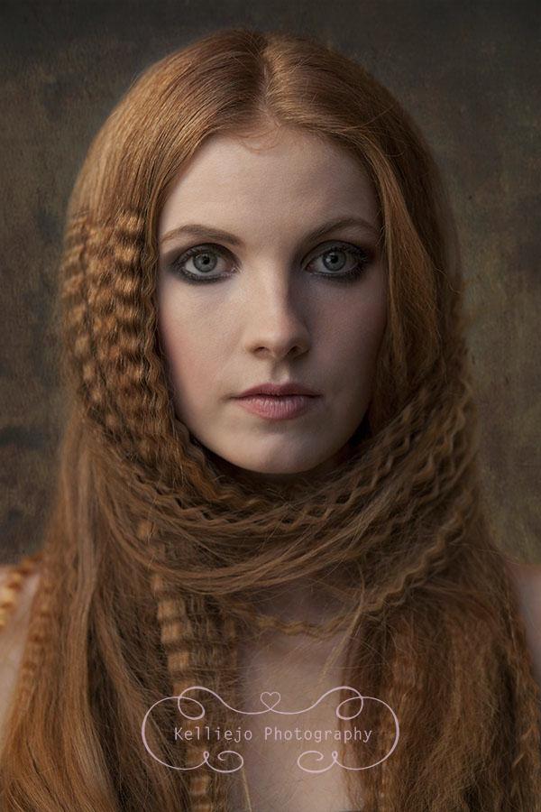 Teenage fashion portrait photoshoot