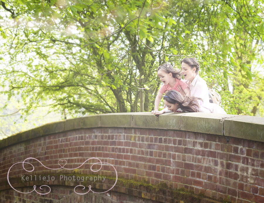 Family photoshoot at Styal Woods