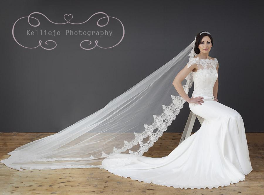 Cheshire bridal portrait